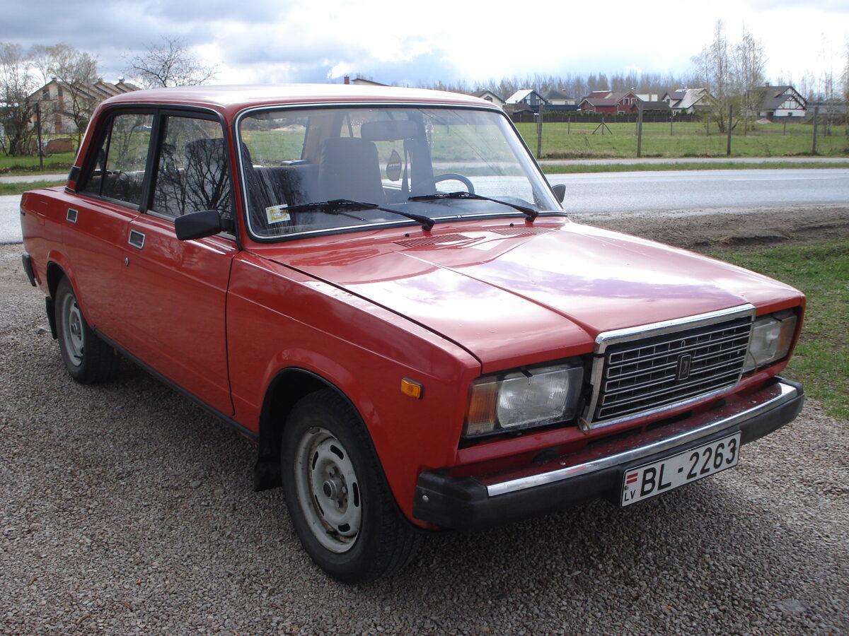 VAZ 2107 benzīns, 1991g